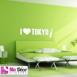 """Sticker """"I love Tokyo"""""""