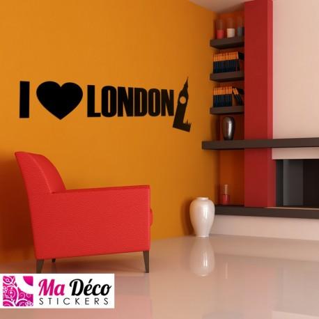 "Sticker ""I love London"""