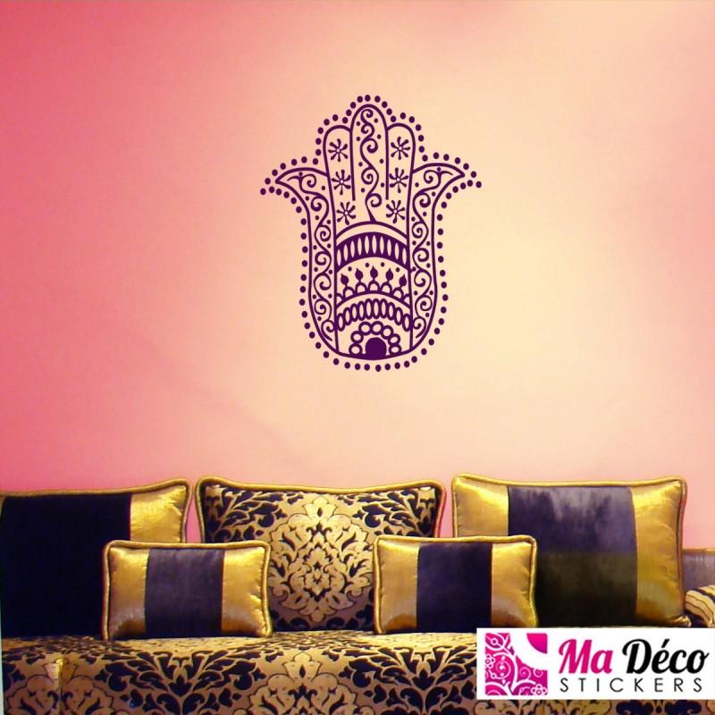 sticker main de fatima pas cher stickers calligraphies discount stickers muraux madeco. Black Bedroom Furniture Sets. Home Design Ideas