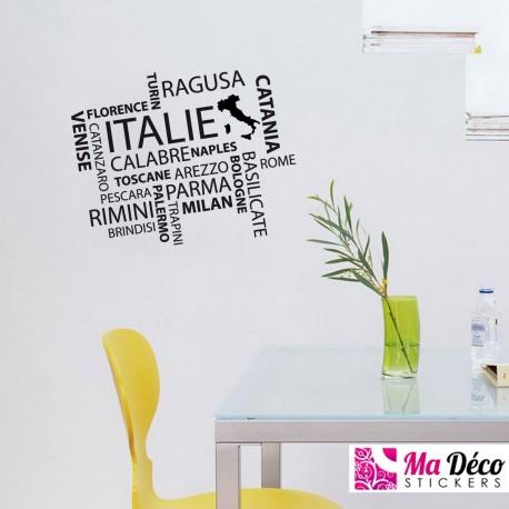 Sticker Villes d'Italie