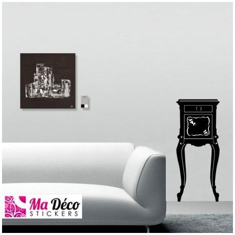 sticker meuble baroque pas cher stickers muraux discount stickers muraux madeco stickers. Black Bedroom Furniture Sets. Home Design Ideas