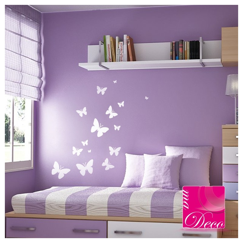 sticker papillons cheap home discount wall stickers