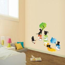Sticker Chats & peinture