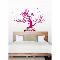 Sticker Arbre bonsai