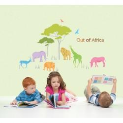 Stickers Animaux d'Afrique