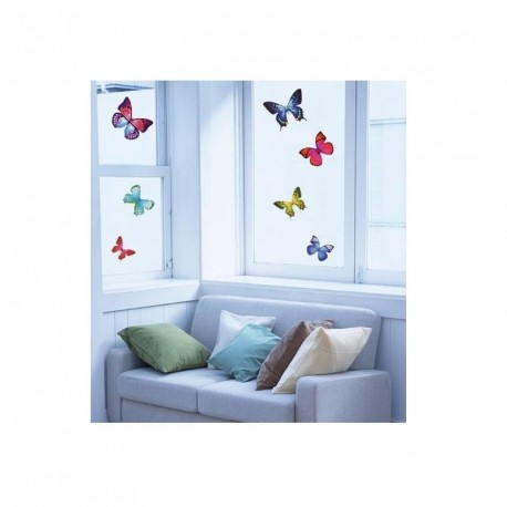 Exotic butterflies sticker