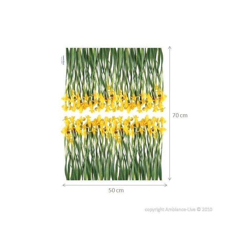 Iris flowers sticker cheap - Stickers Nature discount - wall stickers ...