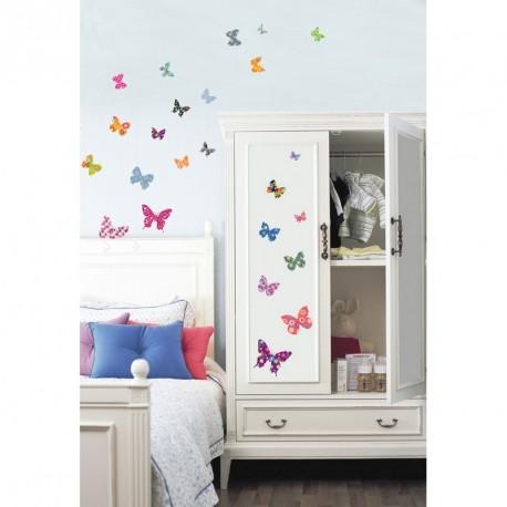 Exotic butterflies sticker 2