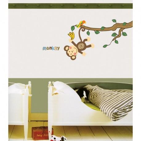 Monkey & tree