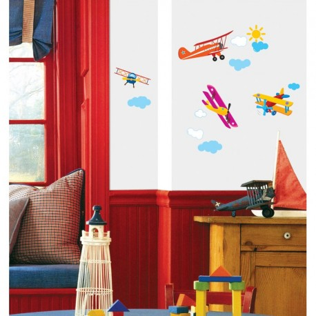 Planes sticker for children's bedroom