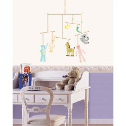 Animals and puppets for children decals