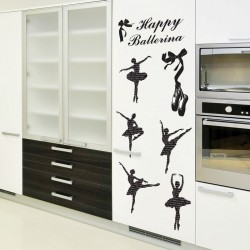 Sticker Danseuse de ballet