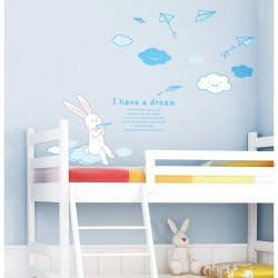 Rabbit wall decal