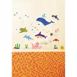 Marine Animals wall decal