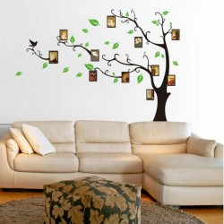 Tree Pictures holder wall decal