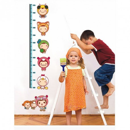 Miniboys kidmeter for children wall decal