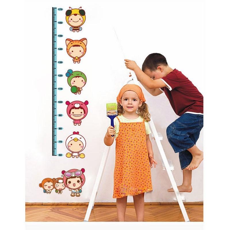 stickers toise enfants pour les tout petits pas cher stickers enfants discount stickers. Black Bedroom Furniture Sets. Home Design Ideas