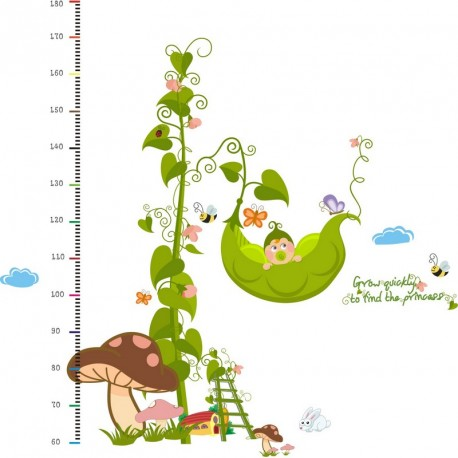 Garden and animals kidmeter wall decal