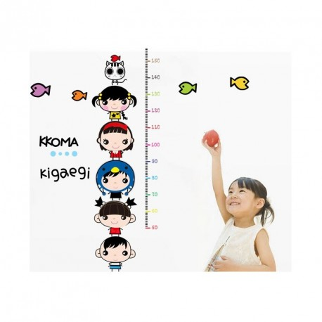 Kids and fishes kidmeter Wall decal