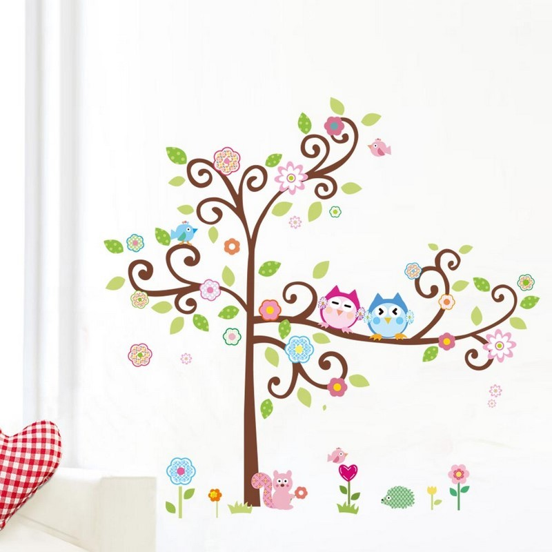 Wall art stickers for