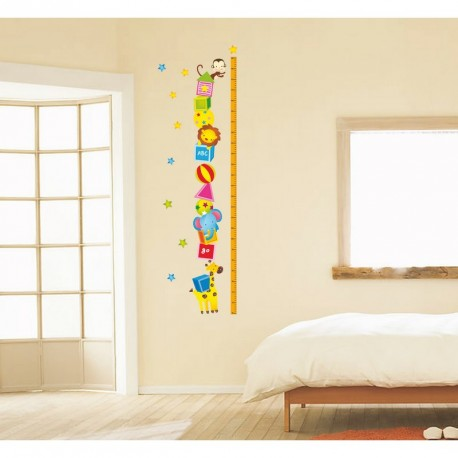Animals and stars kidmeter wall decal