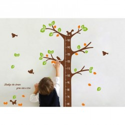 Sticker toise arbre des reves