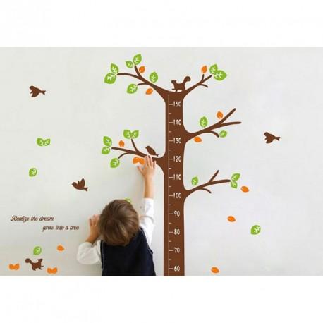 Dreaming tree kidmeter wall decal