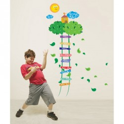 Scale to the sky kidmeter wall decal