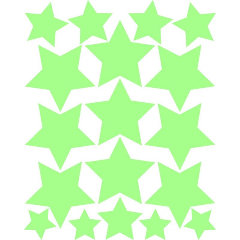 Sticker toiles phosphorescentes pas cher stickers - Stickers etoiles phosphorescentes ...