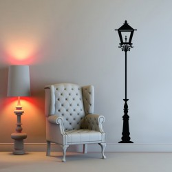 Wall decal Lighting Pole London