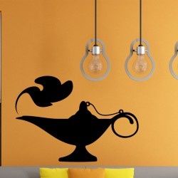 Sticker Oriental Aladdin lamp