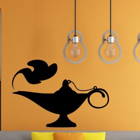 Sticker Oriental Aladdin lamp