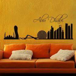 Sticker Ville d'Abou Dabi