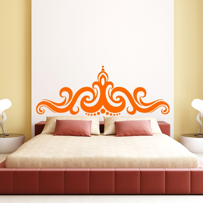 simple free stunning great sticker oriental crown cheap stickers design discount wall with. Black Bedroom Furniture Sets. Home Design Ideas
