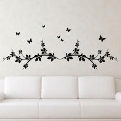 Sticker Papillons et Branches - madeco-stickers, boutique en ligne de stickers muraux pas cher !