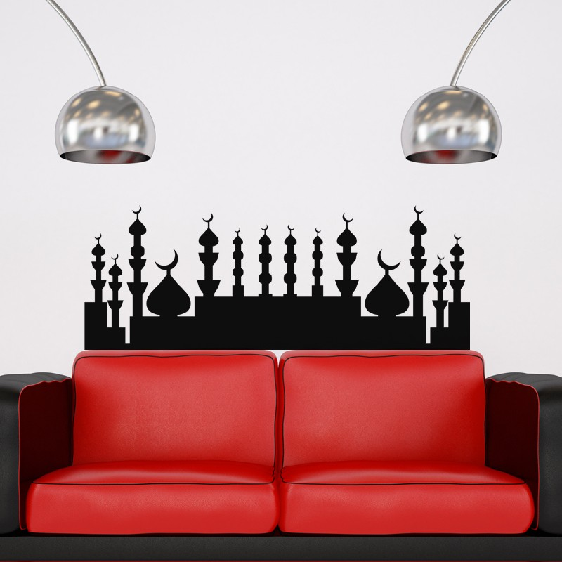 sticker totem islam pas cher stickers design discount. Black Bedroom Furniture Sets. Home Design Ideas