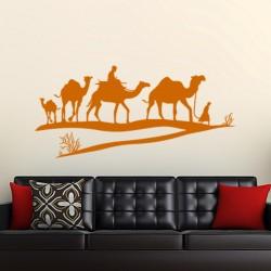 Sticker Dromadaire désert