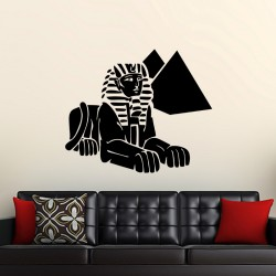 Sticker Sphinx et Pyramides