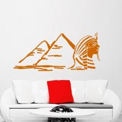 Sticker Pyramides et Sarcophage