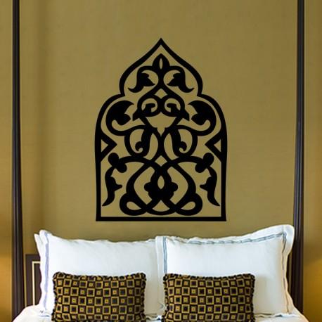 sticker arabesque orientale 2 pas cher stickers design discount stickers muraux madeco. Black Bedroom Furniture Sets. Home Design Ideas
