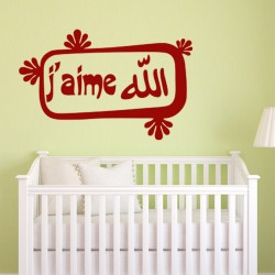 Sticker J'aime l'Islam