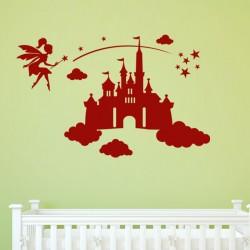Sticker Une fée au palais magique oriental