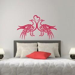 Sticker Oiseaux amoureux