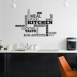 Sticker Kitchen - Bon appetite