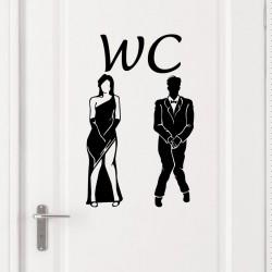 Sticker Design WC