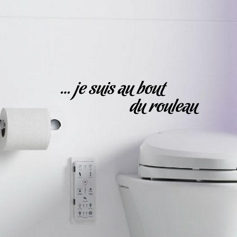 Sticker Je Suis Au Bout Du Rouleau Pas Cher Stickers