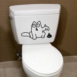 Sticker Drôle de chat
