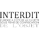 Sticker Interdit d'uriner à côté de la plaque