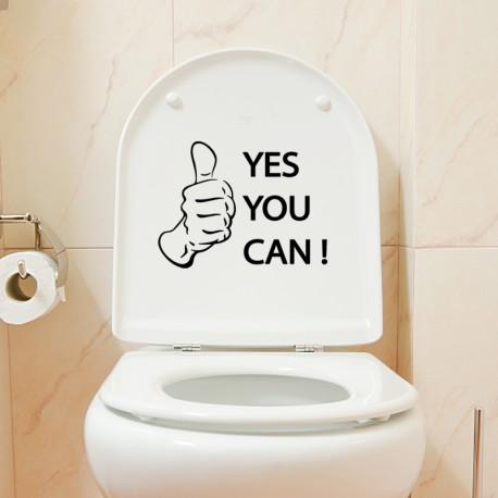 Sticker Oui, vous le pouvez!