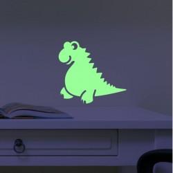 Sticker phosphorescents Dinos